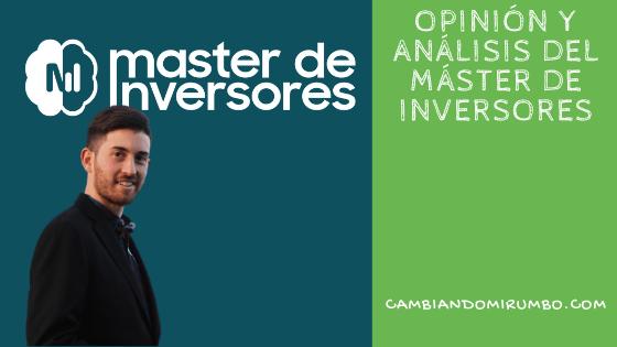 Máster de inversores opiniones