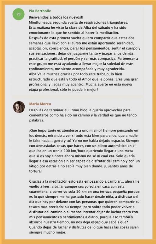 Alba Valle opiniones